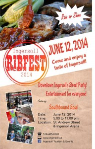 Rib Fest poster